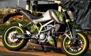 Duke 200 modified fluorescent Rim