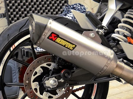 Used Ktm Super Duke R Akrapovic Exhaust For Sale