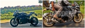 2014 Bajaj pulsar  200 SS VS the Energica  SuperBike India