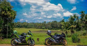 The CBR 150r vs the Yamaha R15 V2