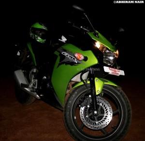 CBR 150r DLX green