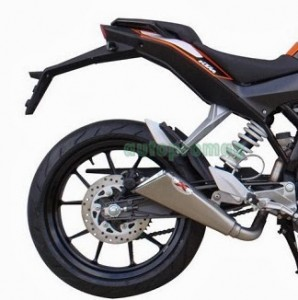 KTM Duke 200 and 390 Ixil X55 Slashed Cone Xtreme