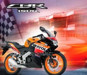 The 2014 repsol cbr 150r