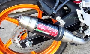 GPR DEEPTONE exhausts for DUKE 200 and 390