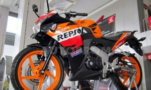 The CBR 150r Repsol Edition 2014