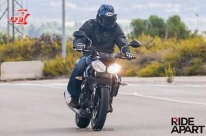 2014 Triumph 250cc Revealed India front