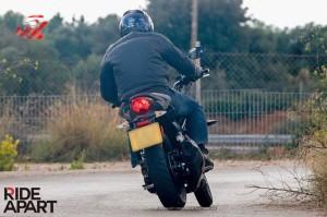 2014 Triumph 250cc Revealed India Rear