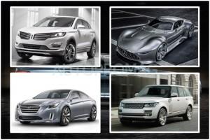 2013 LA Auto Show cars