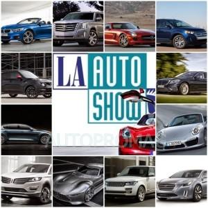 2013 LA Auto Show all cars