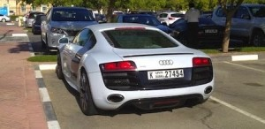 Audi in Dubai college india american university