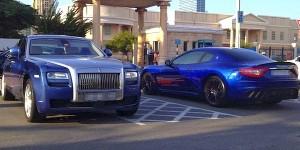 Supercars of American University of Dubai