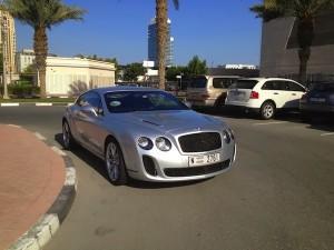 Bentley in Dubai college india american university
