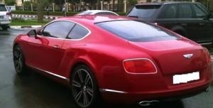 Bentley in Dubai college