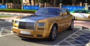 Rolls Royce in Dubai college india american university