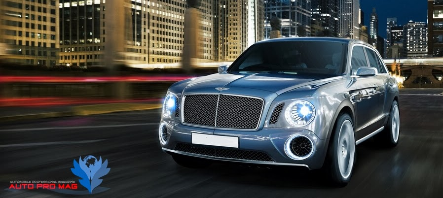 blue bentley suv flying spur