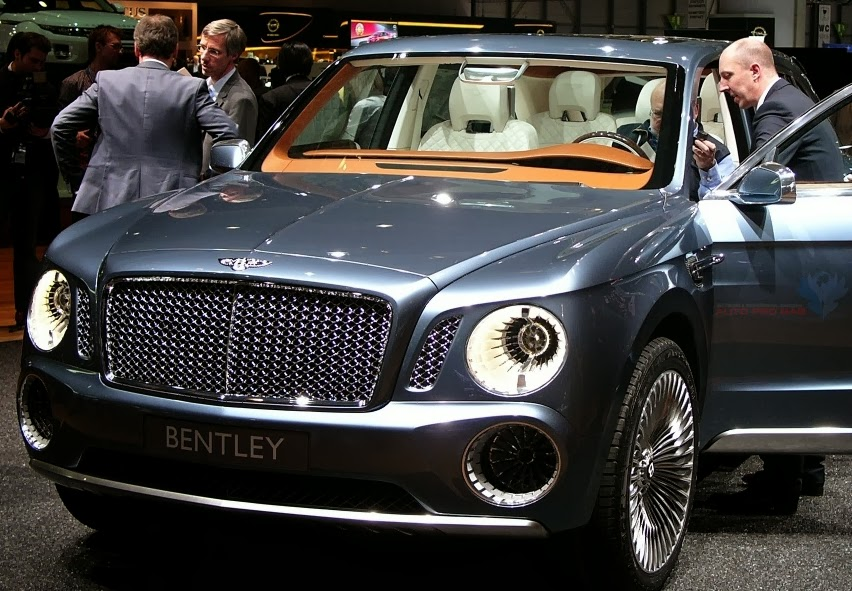 Bentley SUV  launch