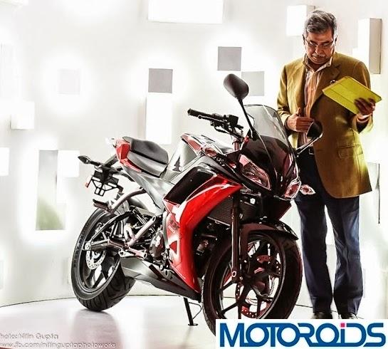 HX 250 India hero